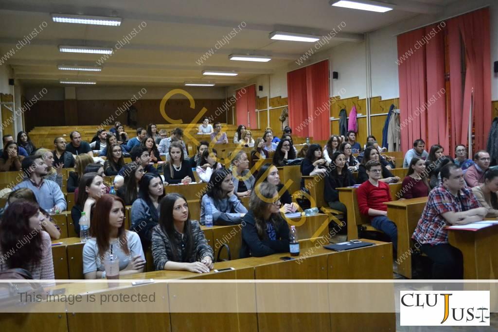 Studenții de anul IV