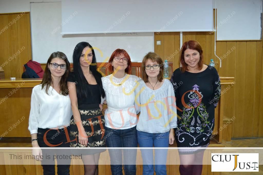 Andrea Chiș este mândră de fostele studente