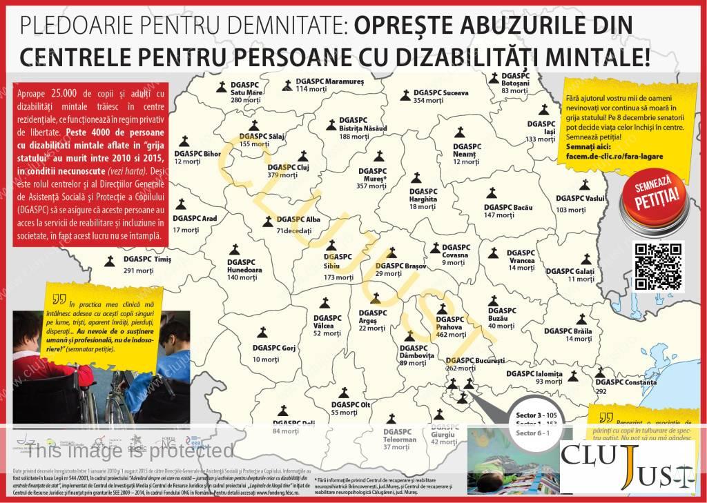 Harta mortii directiile de asistenta sociala