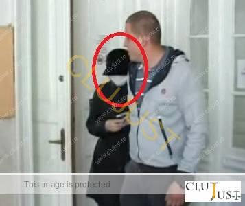 Aspazia Droniuc a mers mascată la proces