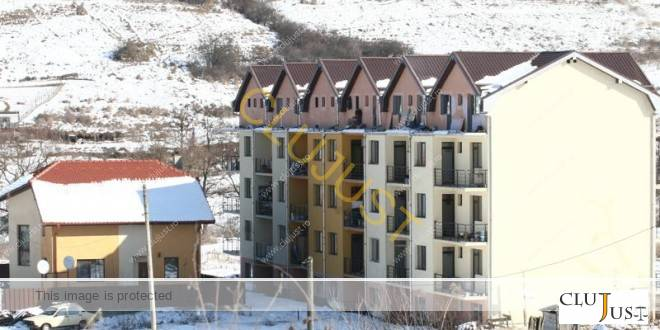 Casa și blocul de pe Câmpului (foto arhivă 2011)