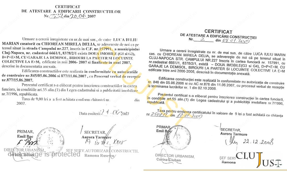certificate constructii metes