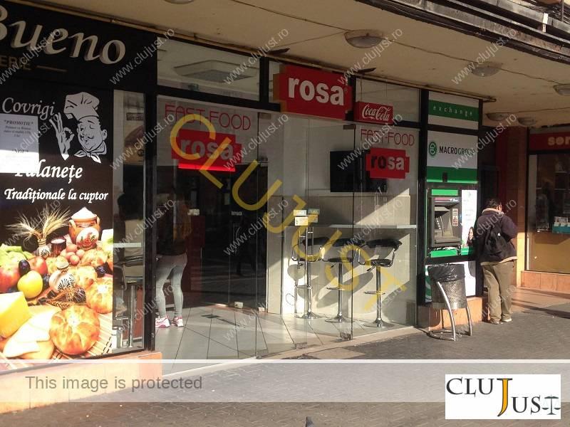 fast food rosa