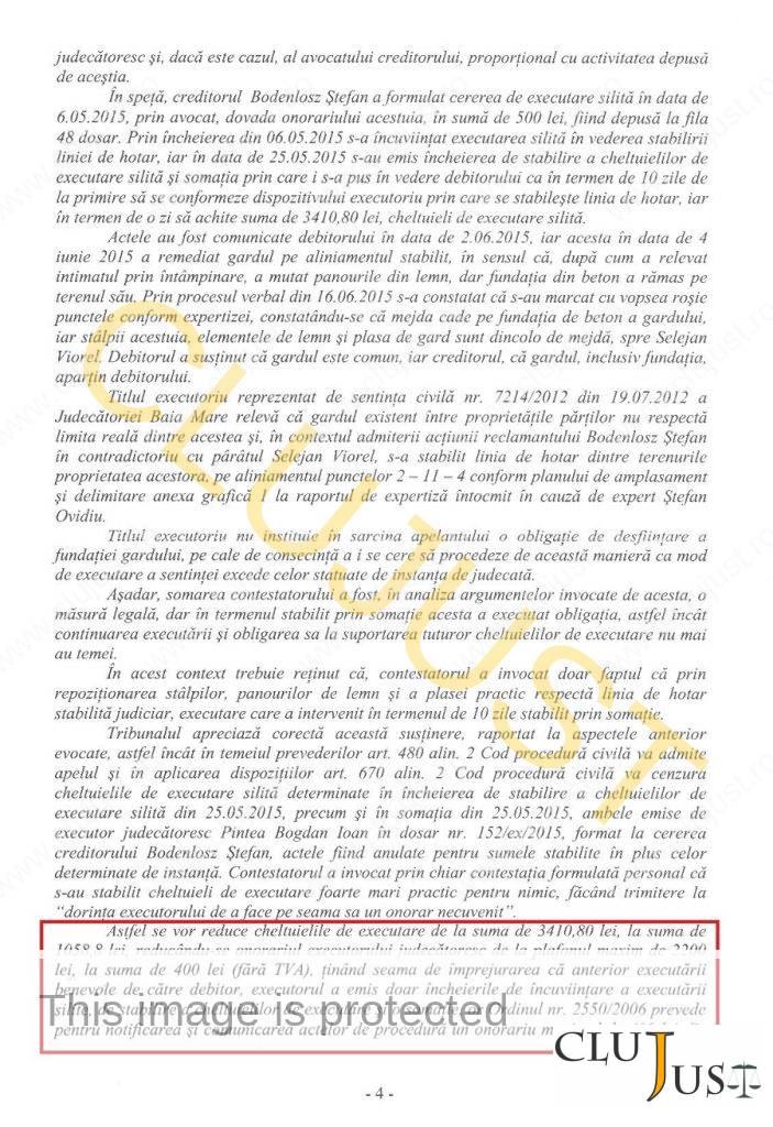 decizie mm onorariu executor 04