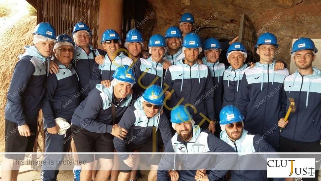 Echipa a vizitat mina din Cartagena, provincia spaniolă Murcia
