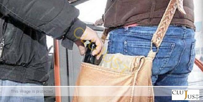 Cel mai prolific hoț de buzunare, la acest moment, din Cluj-Napoca a fost arestat