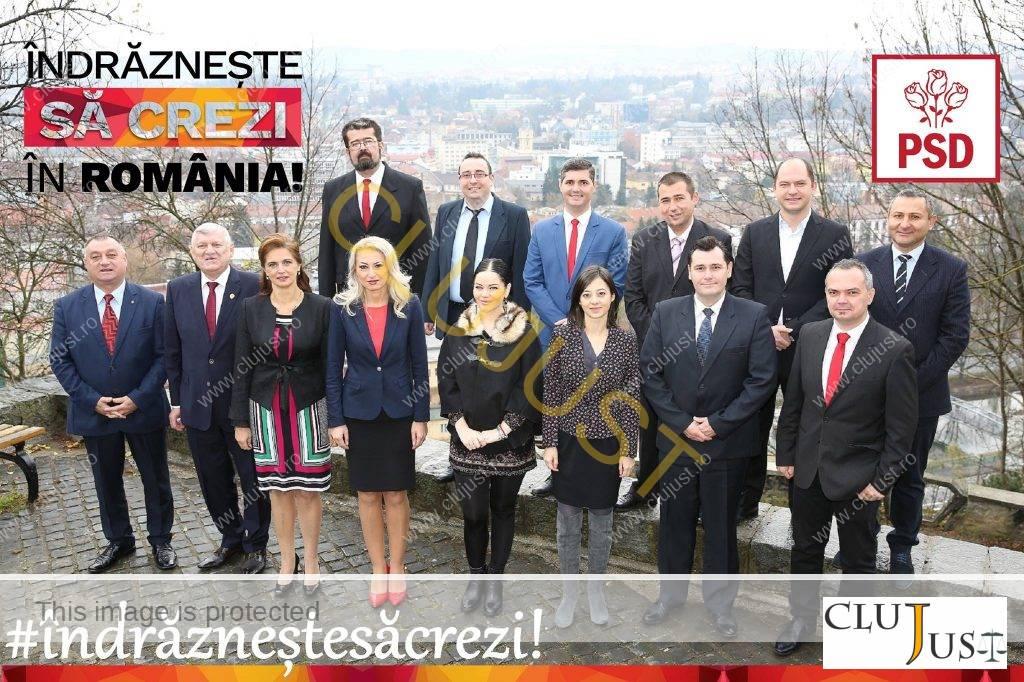Candidații PSD Cluj la alegerile parlamentare 2016