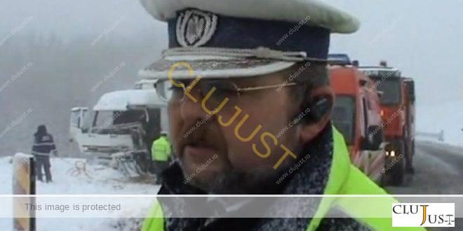 Un comisar sef din Politia Cluj a fost interceptat din greseala intr-un dosar DNA