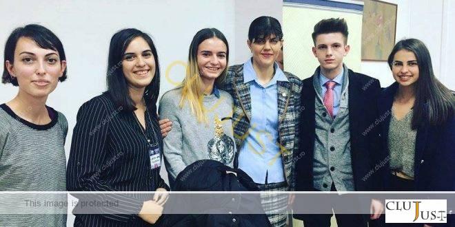 Cinci studenți din Cluj, în schimb de experiență la București, au fost în vizită la DNA