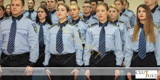 Poliția clujeană are forțe noi din sursă externă