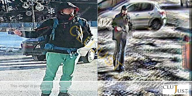 Suspecții unui furt de 80.000 de euro sunt căutați de polițiștii clujeni FOTO/VIDEO