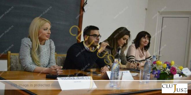 """Zilele Carierei cu reprezentanți ai profesiilor liberale la Facultatea de Drept """"Dimitrie Cantemir"""" Cluj"""