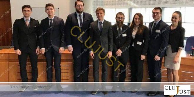 Singura echipă din România la European Human Rights Moot Court Competition de la Strasbourg