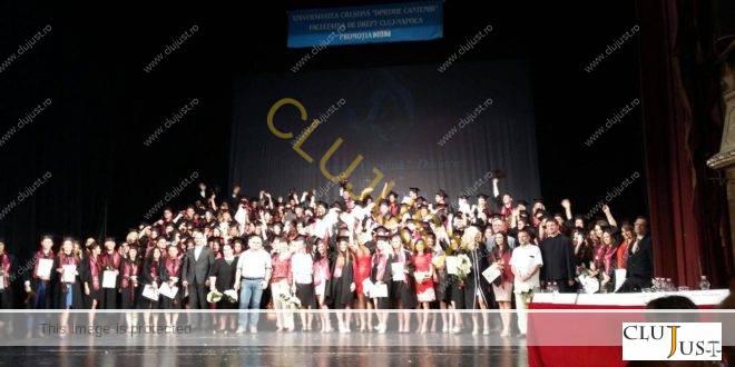 """Festivitatea de absolvire a studenților de la Facultatea de Drept """"Dimitrie Cantemir"""" Cluj FOTO/VIDEO"""
