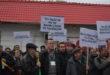 Angajații de la Aeroportul Cluj au ieșit în stradă împotriva conducerii Consiliului Județean FOTO/VIDEO