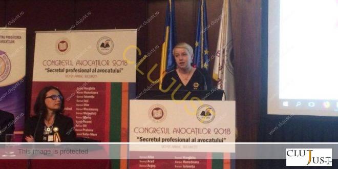 Gîrbovan a felicitat Baroul Cluj si l-a parafrazat pe Ratiu la Congresul Avocatilor