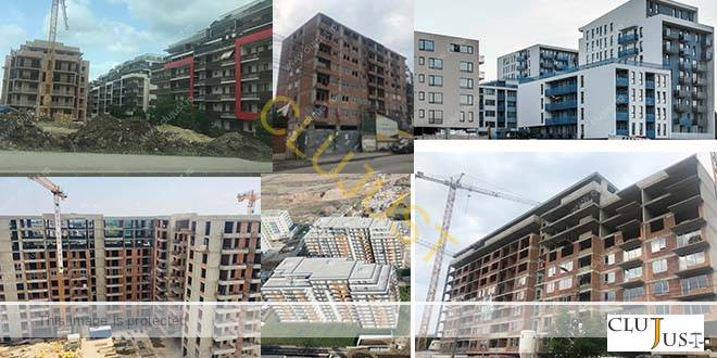 RADIOGRAFIE: Marii dezvoltatori imobiliari din Cluj. Cifre de afaceri, profituri/pierderi și dosare în instanță pe 2017