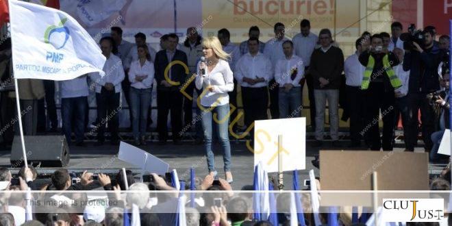 PMP, executat silit de Compania de Transport Public din Cluj pentru neplata deplasării la mitingul din 2014