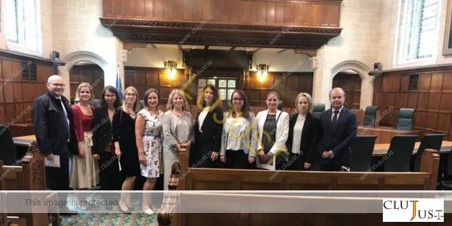 Zece avocați din Baroul Cluj au vizitat instituțiile de drept din Londra FOTO