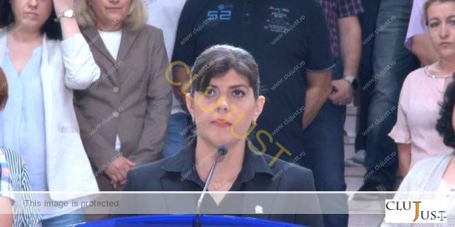"""Kovesi, cu ochii înlăcrimați după revocare: """"Corupția poate fi învinsă. Nu abandonați!"""""""
