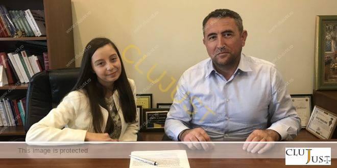 Tânăra cu cel mai mare punctaj din țară la examenul pentru Barou 2018 a intrat în echipa Budișan-Mateuț
