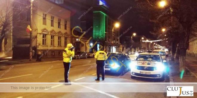 Amenzi de aproape 28.000 lei împărțite de polițiștii rutieri în Cluj-Napoca într-o singură zi de 13