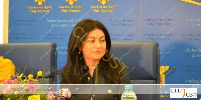 """Președintele Curții de Apel Cluj, Denisa Băldean: """"Nu devii magistrat în ziua absolvirii INM"""""""
