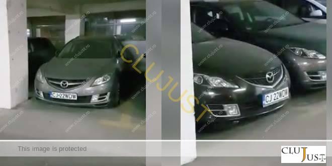 Poliția rutieră a lămurit misterul celor două mașini cu același număr dintr-un parking din Cluj