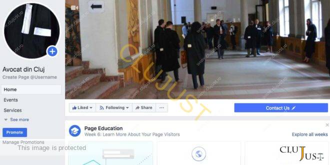 Hotărâre importantă a Consiliul Baroului Cluj cu privire site-urile și paginile din rețelele de socializare ale avocaților