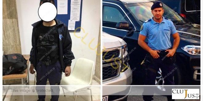 Un jandarm fals a fost prins de unul adevărat in centrul Clujului