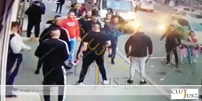 """Scandal în """"Groapă"""" între rivali de pe piața drogurilor din Cluj-Napoca VIDEO"""