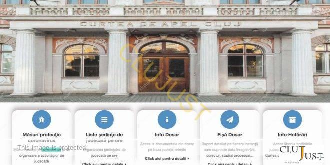 CA Cluj a lansat aplicație pentru trimiterea citațiilor și a altor acte de procedură pe e-mail