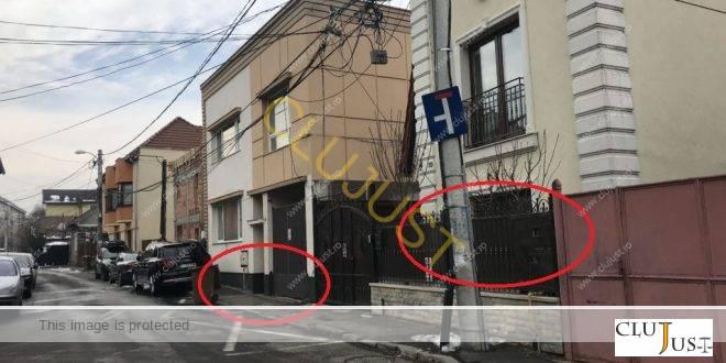 Raport expertiză: Casa unui medic cunoscut din Cluj se suprapune cu trotuarul. Primăria nu se supără
