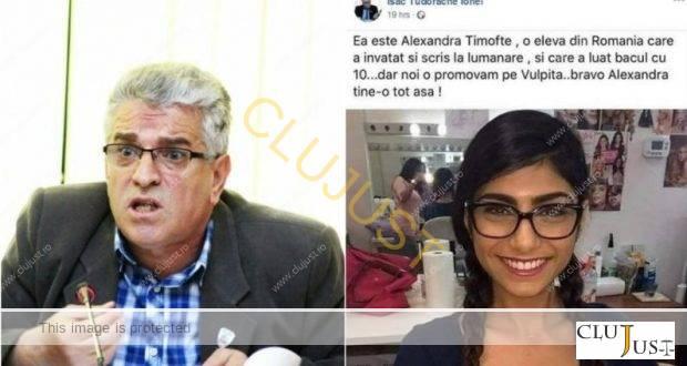 Consilierul din Câmpia Turzii care a distribuit fake news cu o actriță porno are dosar penal
