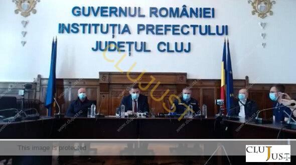 Extinderea măsurilor în cinci noi localități din județul Cluj