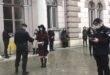 """Jandarmii au oprit protestul avocaților stagiari din Cluj! """"În baza legii 550"""" (!?) FOTO/VIDEO"""