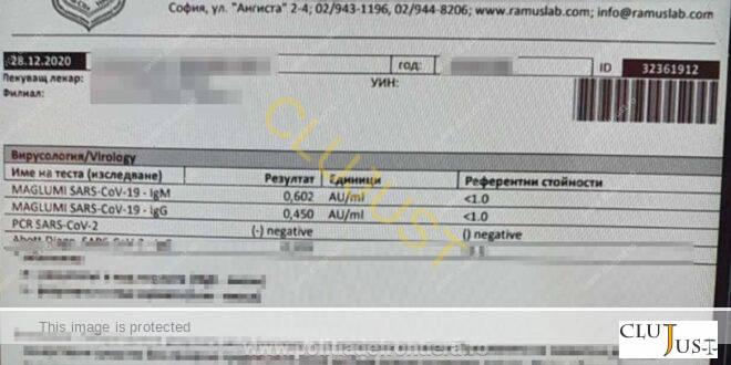 Trei bărbați și două femei, prinși cu teste false de Covid negativ pe Aeroportul din Cluj